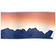 Mountain Silhoutte Poster