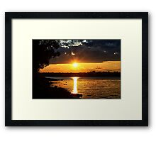 In A Mellow Tone Framed Print