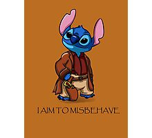 I Aim To Misbehave Photographic Print