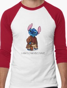 I Aim To Misbehave Men's Baseball ¾ T-Shirt