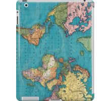 Vintage Map of The World (1897) iPad Case/Skin