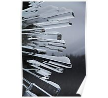 Icy Rays Poster