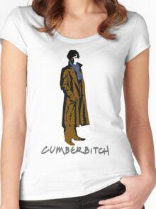 Cumberbitch - oh yeeeeeaaaaah Women's Fitted Scoop T-Shirt