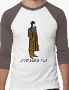 Cumberbitch - oh yeeeeeaaaaah Men's Baseball ¾ T-Shirt