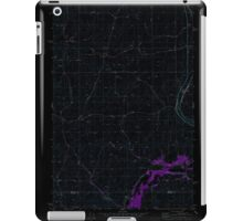 USGS Topo Map Washington State WA Plaza 362961 1980 24000 Inverted iPad Case/Skin