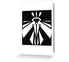 Rank-Up-Magic Revolution force White edition Greeting Card