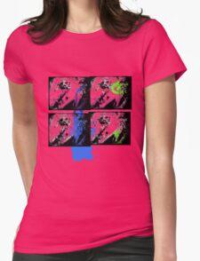 Graffiti Zef Queen Womens Fitted T-Shirt