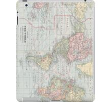 Vintage World Map (1901) iPad Case/Skin