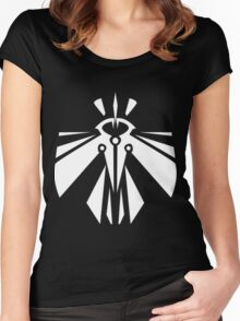 Rank-Up-Magic Revolution force White edition Women's Fitted Scoop T-Shirt