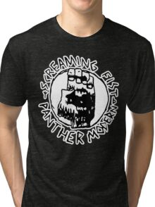 Screaming ZEF Fist Tri-blend T-Shirt