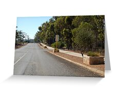 Frankland River Main Street Greeting Card