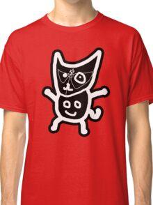 black ZEFCAT Classic T-Shirt