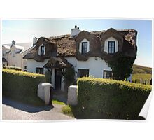 Thatched Cottage, Ireland Poster