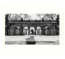 Bethesda Terrace, Night 2 Art Print