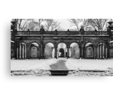 Bethesda Terrace, Night 2 Canvas Print
