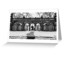 Bethesda Terrace, Night 2 Greeting Card