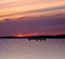 Lake Macquarie Sunset by bazcelt
