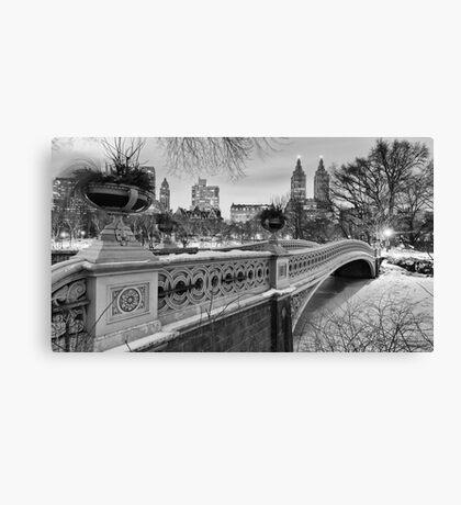Bow Bridge Night Canvas Print