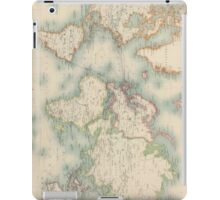Vintage Map of The World (1911) iPad Case/Skin