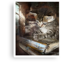 Thank you lord Canvas Print