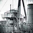 HMS Caroline by Chris Cardwell