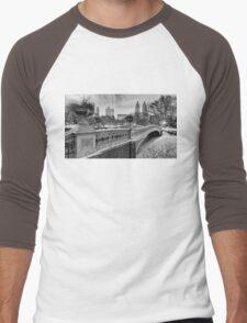 Bow Bridge Night Men's Baseball ¾ T-Shirt