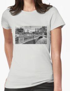 Bow Bridge Night Womens Fitted T-Shirt