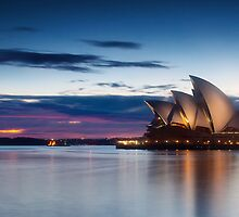Sunrise on the sails by damienlee