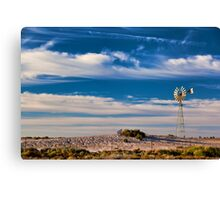 Catch the Wind - Mungo NP, NSW Canvas Print
