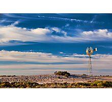 Catch the Wind - Mungo NP, NSW Photographic Print