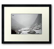 Harshil valley  Framed Print
