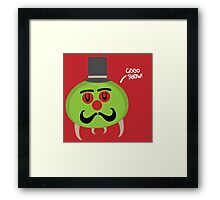 Gentleman Metroid Framed Print