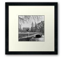 Bow Bridge Daytime Framed Print