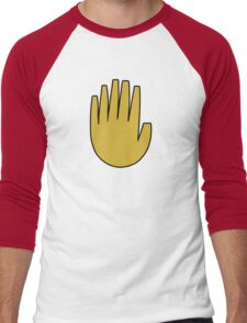 Gravity Falls: The Journal Hand (vector) Men's Baseball ¾ T-Shirt