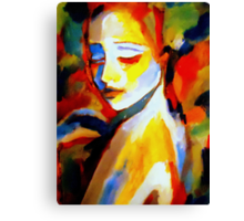 """Pensiveness"" Canvas Print"