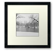 Last Snow Framed Print