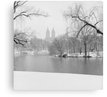 Last Snow Canvas Print