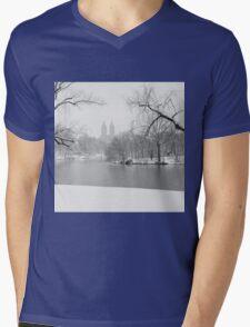 Last Snow Mens V-Neck T-Shirt