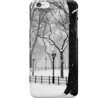 Central Park Walker iPhone Case/Skin