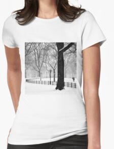 Central Park Walker Womens Fitted T-Shirt