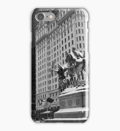 59th Street Penn Plaza iPhone Case/Skin