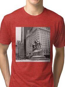 59th Street Penn Plaza Tri-blend T-Shirt
