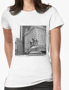 59th Street Penn Plaza Womens Fitted T-Shirt
