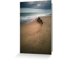 beachwalk Greeting Card
