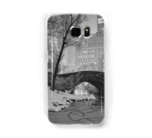 Cracked Lake Under Gapstow Bridge Samsung Galaxy Case/Skin