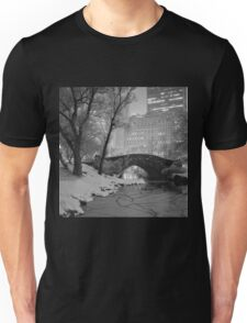 Cracked Lake Under Gapstow Bridge Unisex T-Shirt