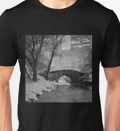 Cracked Lake Under Gapstow Bridge Unisex T-Shirt