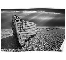 Fishing boat graveyard Poster
