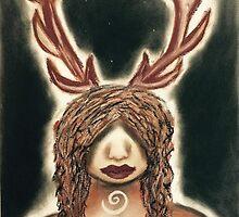 Stag Woman by Astara Lak'ech