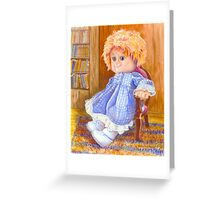 Redheaded Suzie Greeting Card